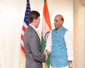 Rajnath holds talks with US Def Secretary with focus on Indo-Pacific