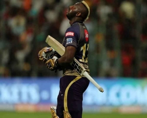 Russell questions KKR decision to send him lower down the order