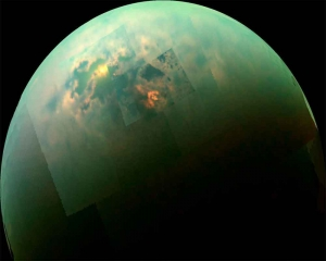 Saturn's moon Titan has 100-m deep methane lakes: NASA
