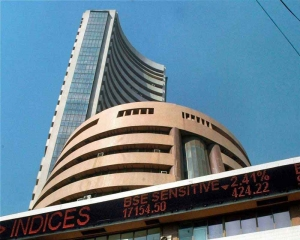 Sensex ends 74 pts lower; Yes Bank plunges 7.11 pc