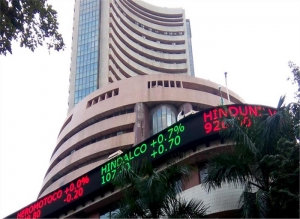 Sensex falls over 100 pts in early trade; ONGC rallies 6 pc