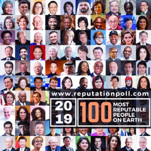 Seven Indians in the 100 most reputable people list