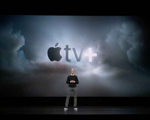 Streaming this fall: Apple TV+, gaming service