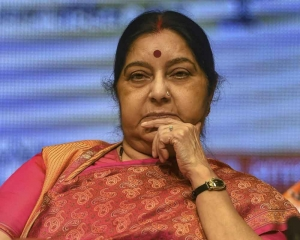 Swaraj speaks with French counterpart on anti-terror cooperation