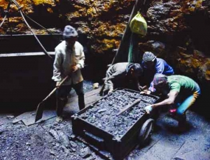 The politics of mining riches