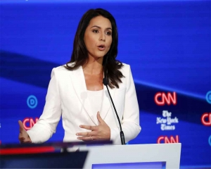 Tulsi Gabbard calls Hillary Clinton 'queen of warmongers' over Russia remarks