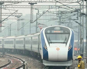 Vande Bharat Express delayed by 'dense fog' on first commercial run