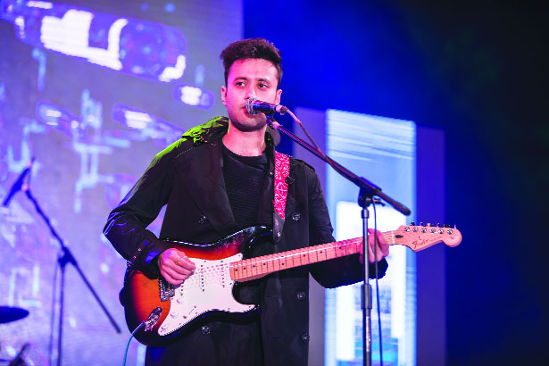 'Lot of scope for English songs in India'