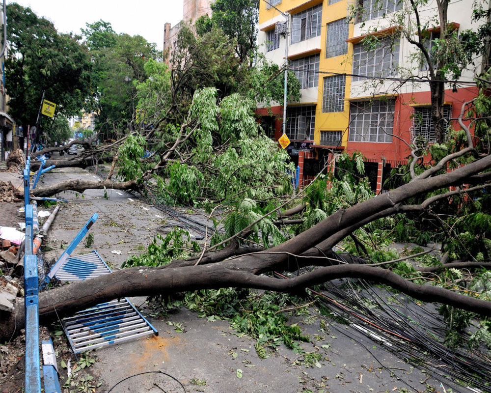 22 oppn parties call upon Centre to declare Cyclone Amphan as national calamity