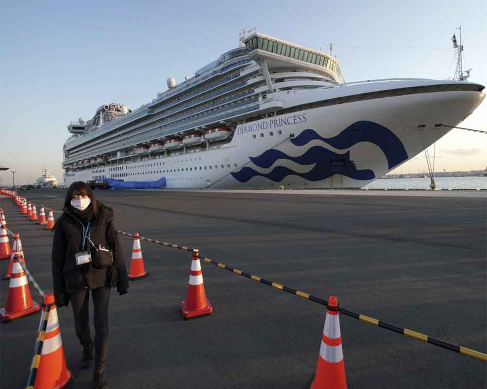 44 more COVID-19 cases on Japan ship: health minister