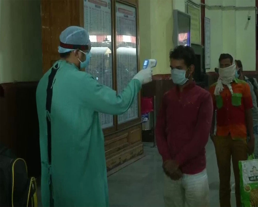 87 COVID-19 patients in Nainital came by same special train