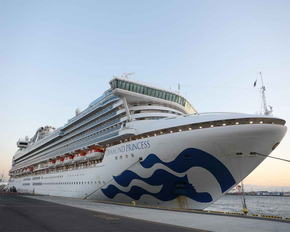 88 more people test positive for coronavirus on ship off Japan