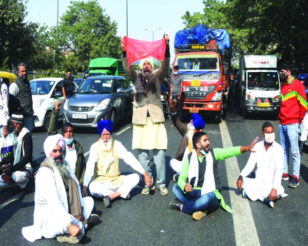 Delhi Police girds up to stop kisan from entering Capital