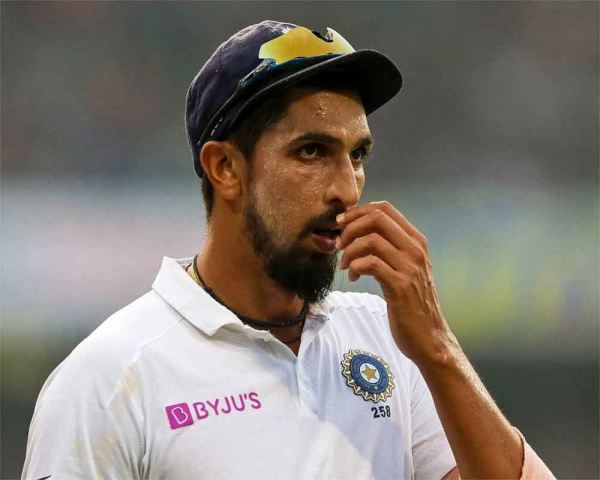 Ishant sustains ankle injury before Test squad announcement