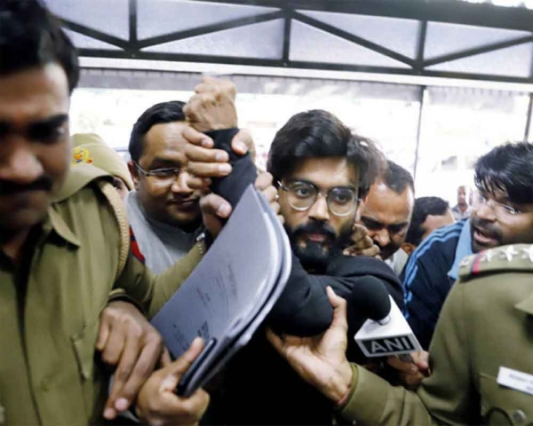 New Friends Colony anti-CAA violence: Police files charge sheet, names Sharjeel Imam as instigator