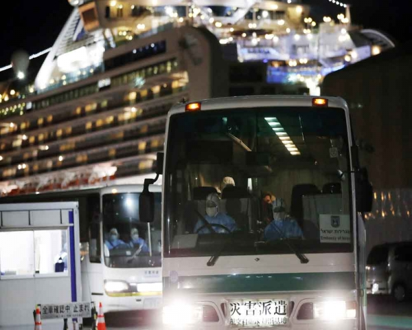 One more Indian tests positive for coronavirus on cruise ship off Japan