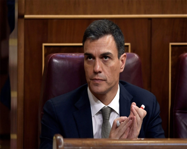 Spain prime minister wants to extend state of emergency 1 month.