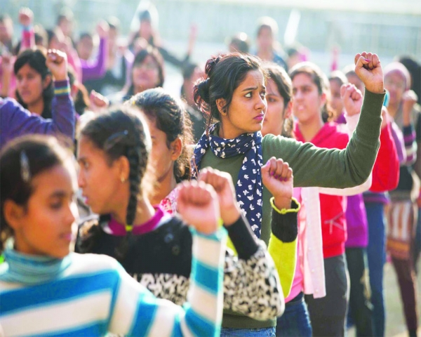 Women in a just society in New India