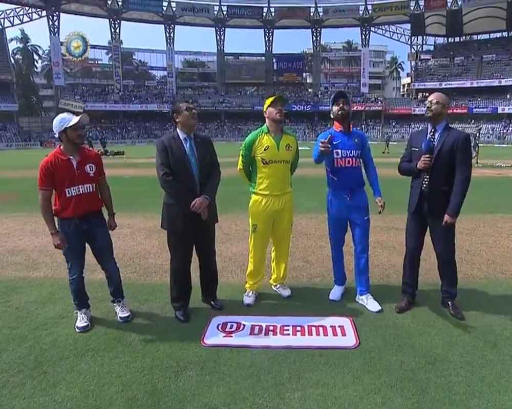 Australia win toss, opt to bowl in first ODI against India