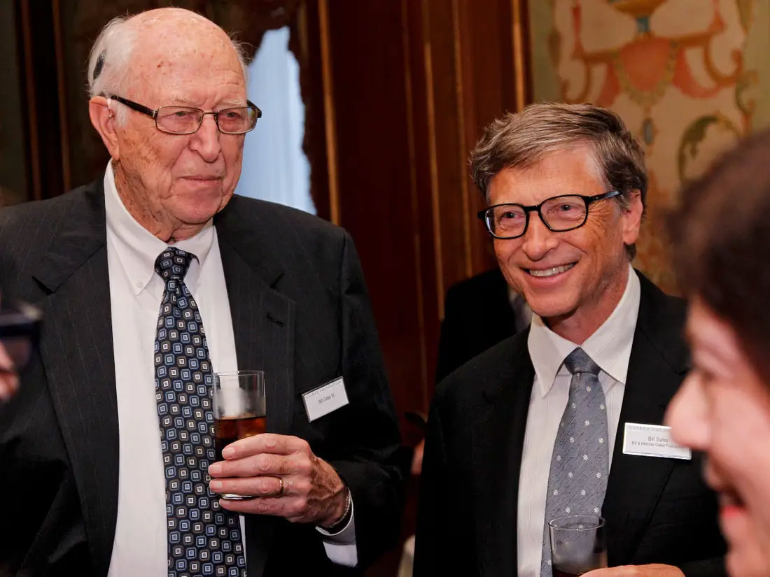 Bill Gates Sr, father of Microsoft co-founder, dies at 94