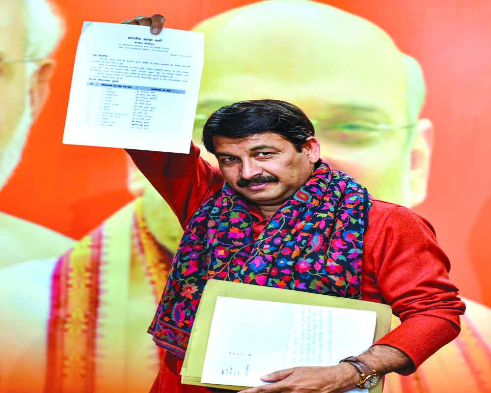 BJP's 1st list of 57 bets big on civic poll feats