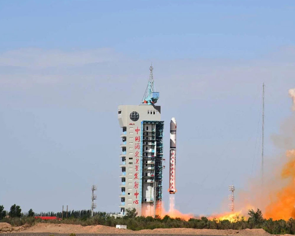China successfully launches 9 satellites into orbit from ship