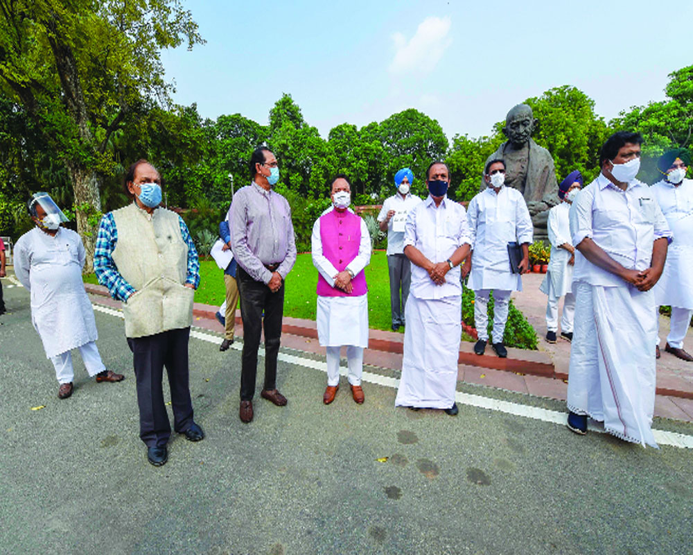 Cong questions absence of PM from LS, demands LAC reality
