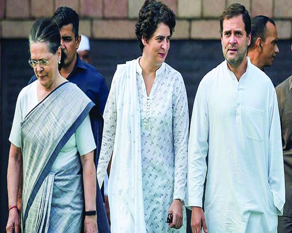 Congress split inevitable