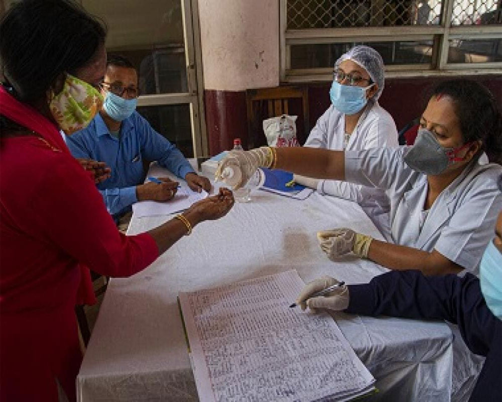 COVID-19: 60,963 fresh cases take India's tally to 23,29,638