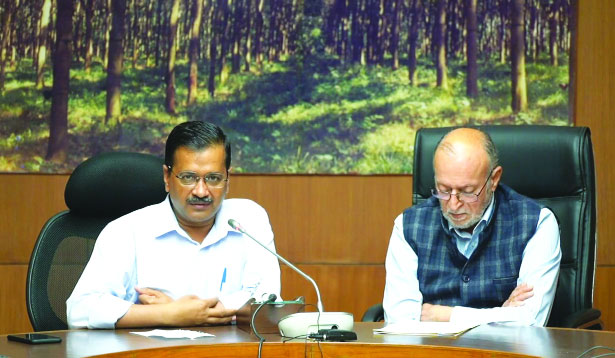 Delhi ready to tackle situation if number goes up: Kejriwal