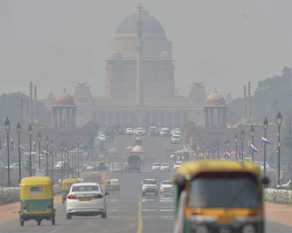 Delhi's air quality 'poor', likely to improve
