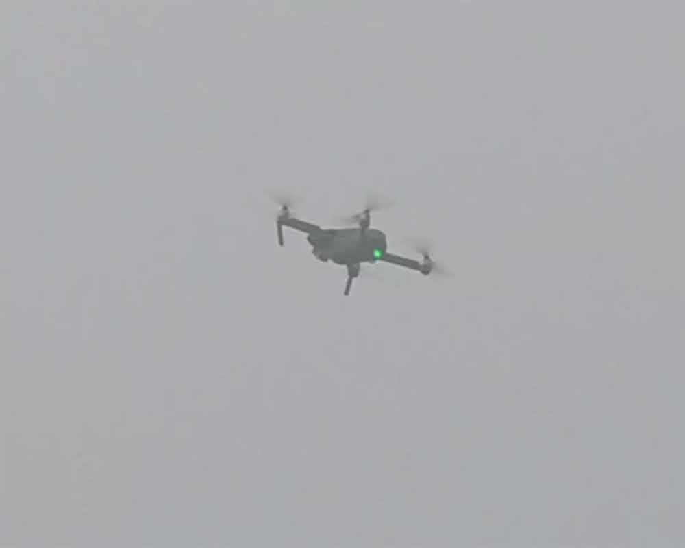 Drone spotted near Indo-Pak border in Punjab; BSF opens fire