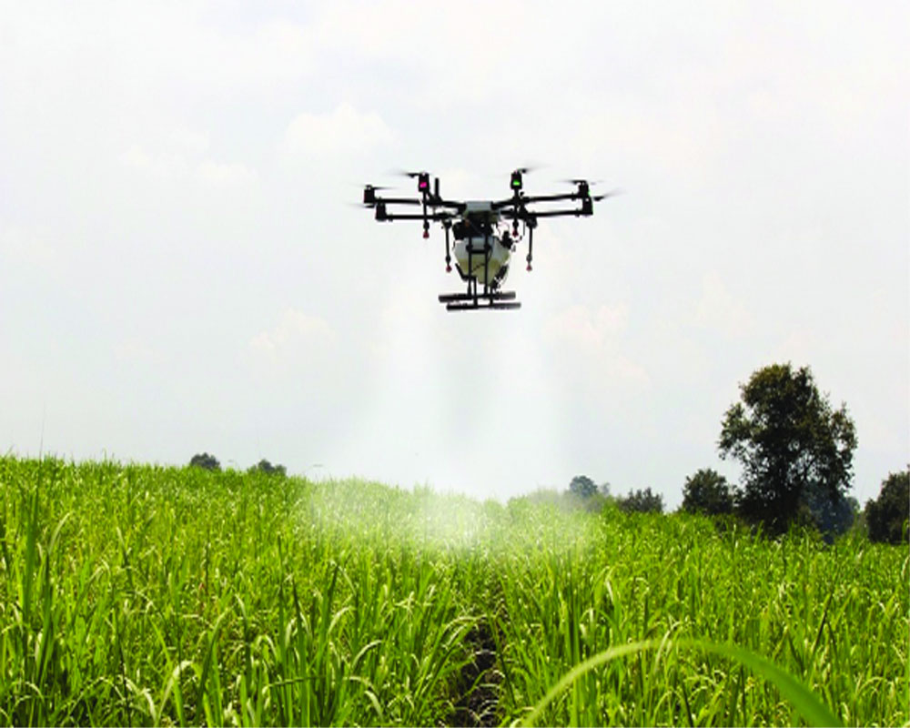 Farmers can use Agrix1 drone sans Govt nod to protect crops