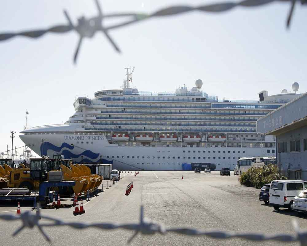 Four Indians infected with coronavirus on board cruise ship responding well to treatment: Indian embassy