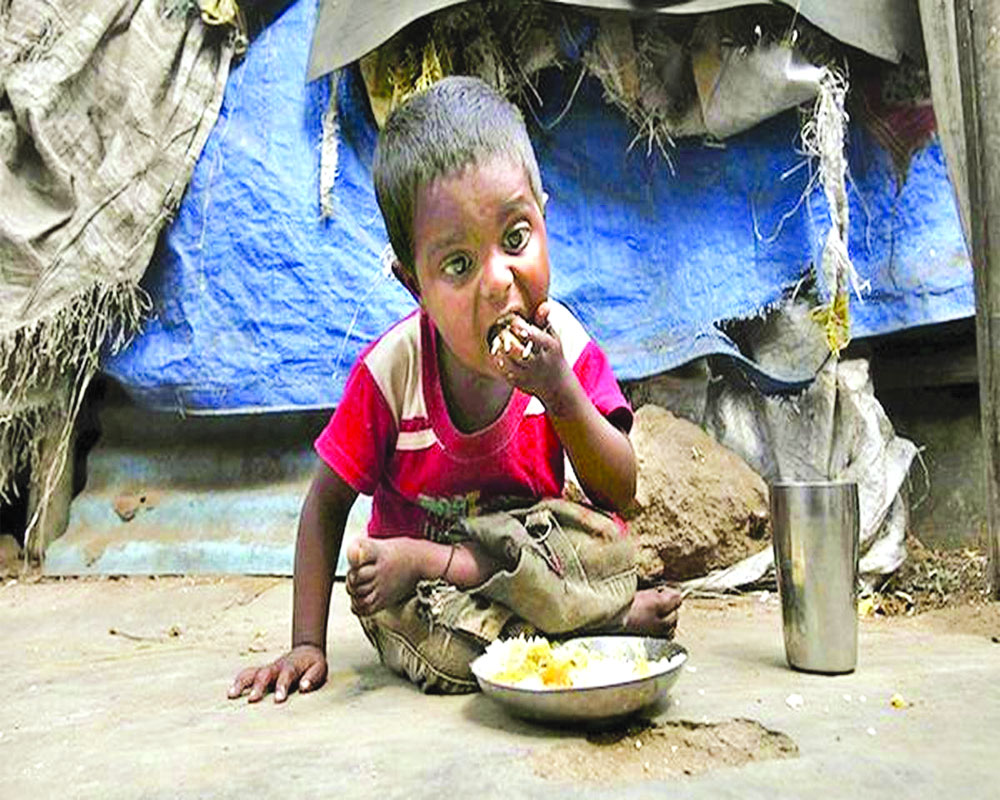 Global Hunger Index: India  at 94th among 107 nations