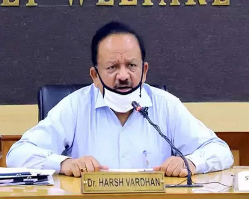Graded multi-level institutional response kept COVID-19 cases, deaths per million low: Vardhan