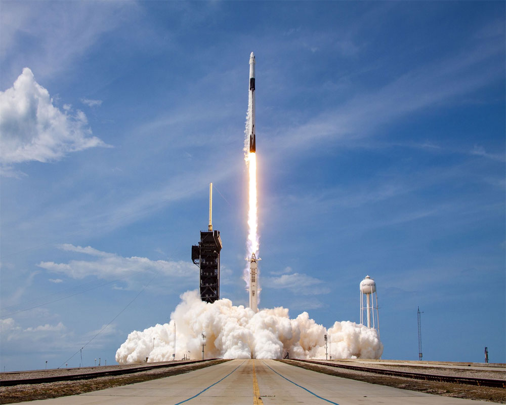 History in the making: SpaceX propels two NASA astronauts into orbit
