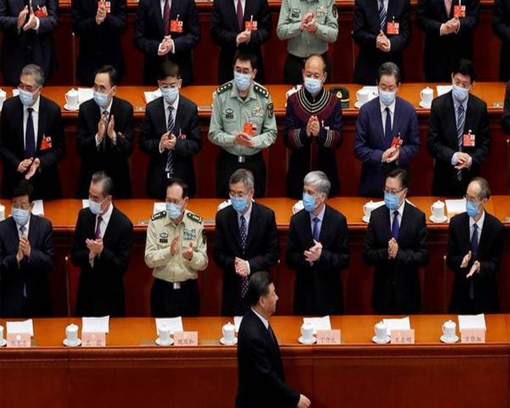 Hong Kong security bill submitted to China's parliament