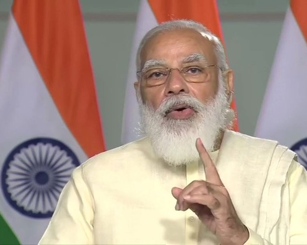 India will give you ease of doing business, you work for providing 'ease of living' to people: Modi to IIT students