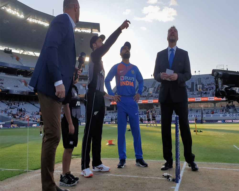 India win toss, opt to field in first T20 International against NZ