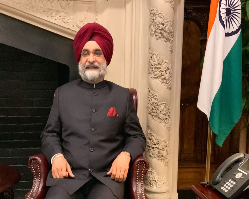 Indian-Americans important stakeholder in India-US relationship: Amb Sandhu