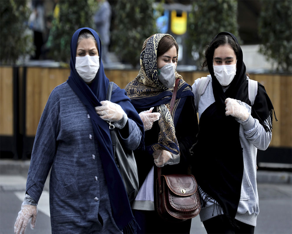 Iran says 117 new virus deaths take total past 4,000