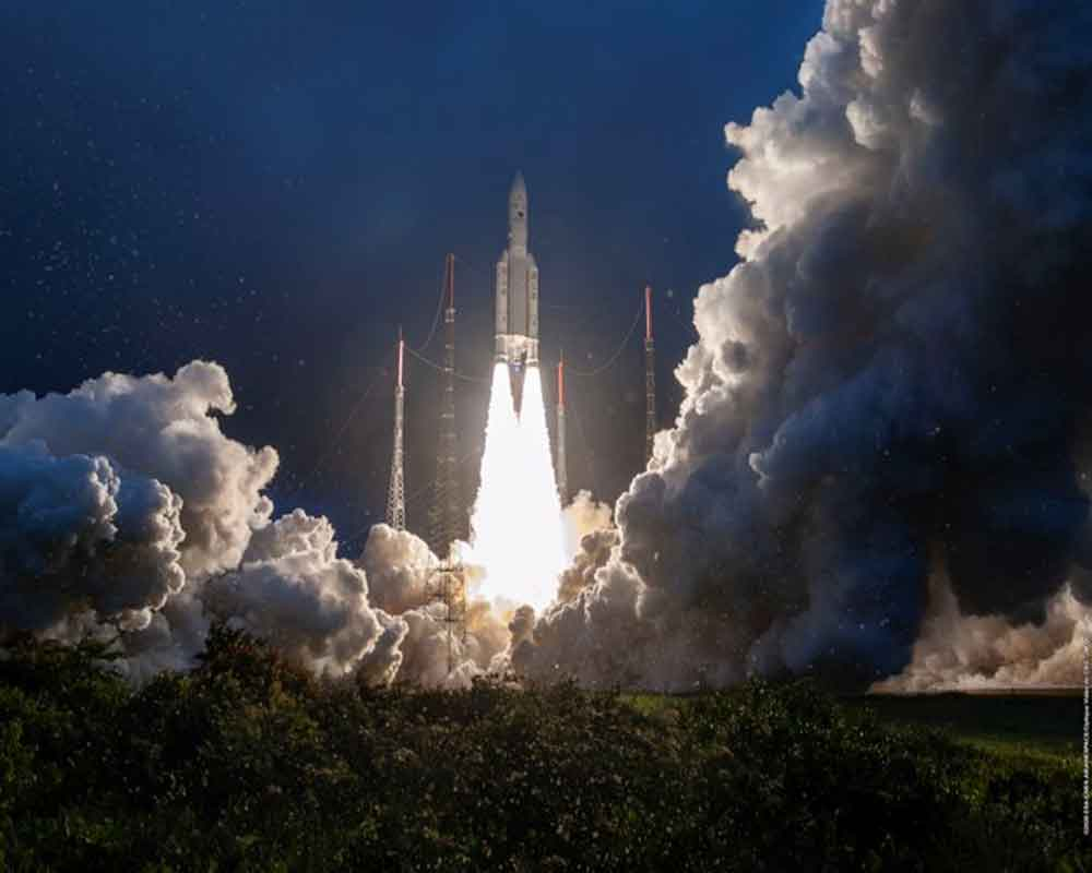 ISRO's GSAT-30 satellite successfully launched by Ariane Rocket.