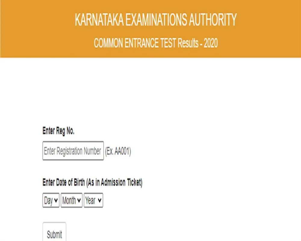 KCET 2020 result declared today; Check Complete Details Here
