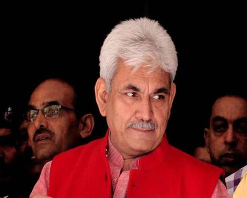 Manoj Sinha appointed as new LG of J-K