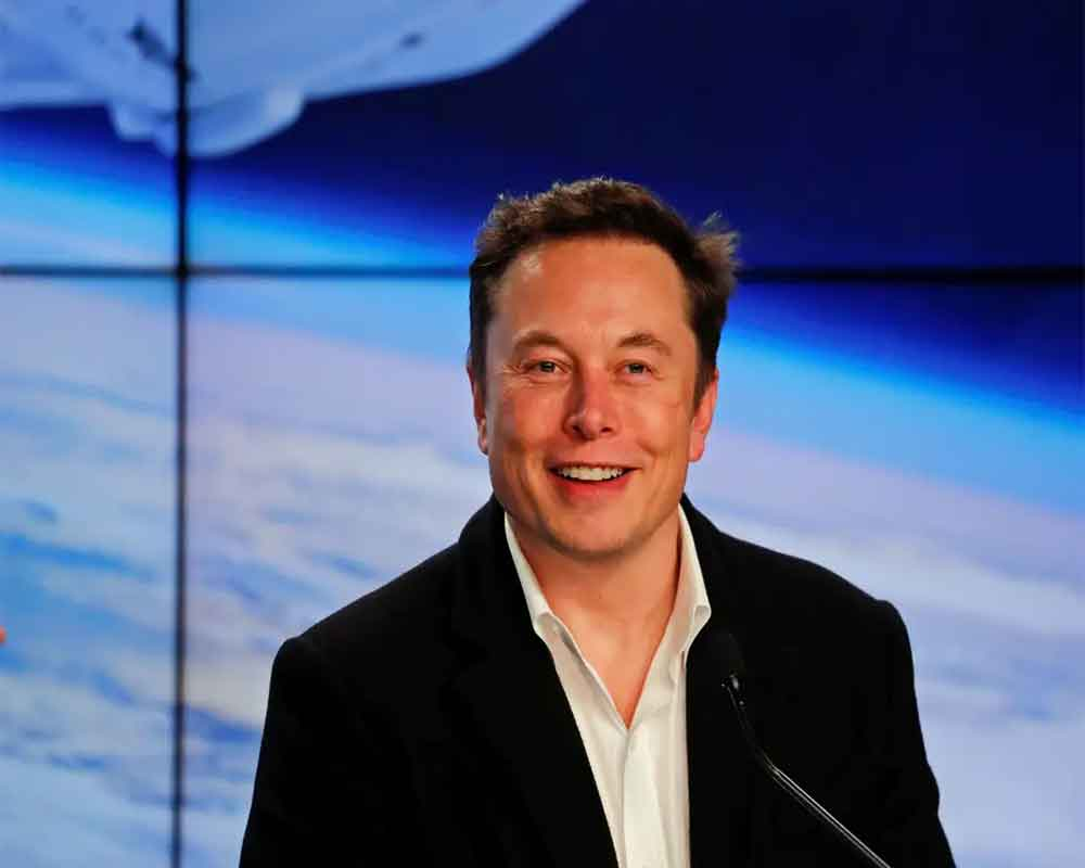 Musk aims to send 10 lakh people to Mars by 2050