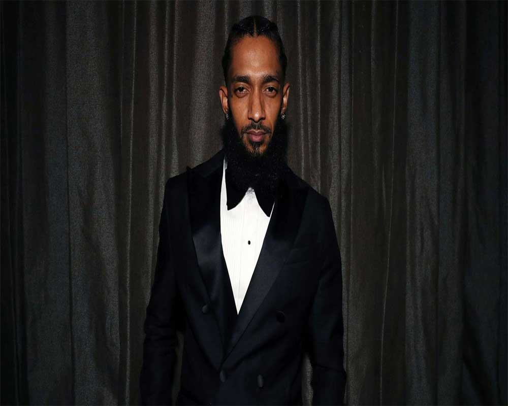 Nipsey Hussle wins posthumous Grammy, stars pay musical tribute at ceremony