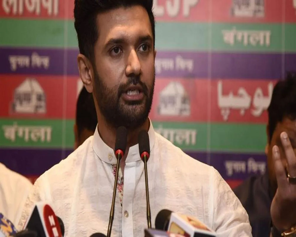 Nitish insulted my father, worked against LJP candidates in 2019 LS polls: Chirag