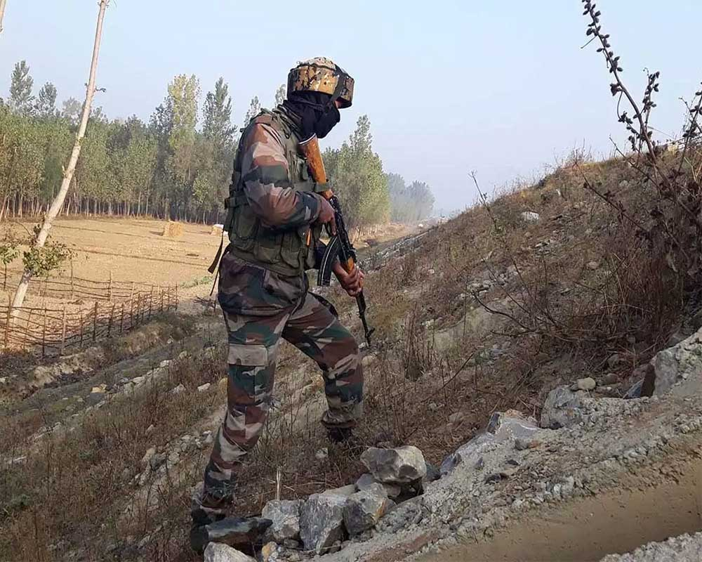 No trace of Army jawan after he slips in snow at LoC