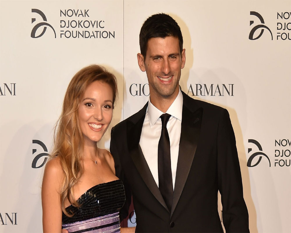 Novak Djokovic and wife test negative for virus